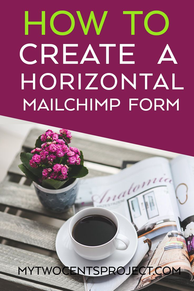 Using a FREE plugin, I'll show you how to set up a horizontal MailChimp optin form for your blog that you can add to the end of your blog posts, in your header or wherever you'd like!