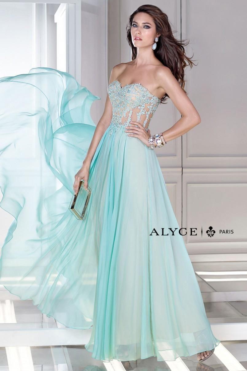 Dress for a princess style 35677   Alyce Paris Prom Dresses ...