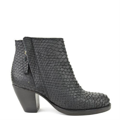 Fred De La Bretoniere 250054 Laarzen Dames Oxener Schoenen Schoenen Laarzen Zwart