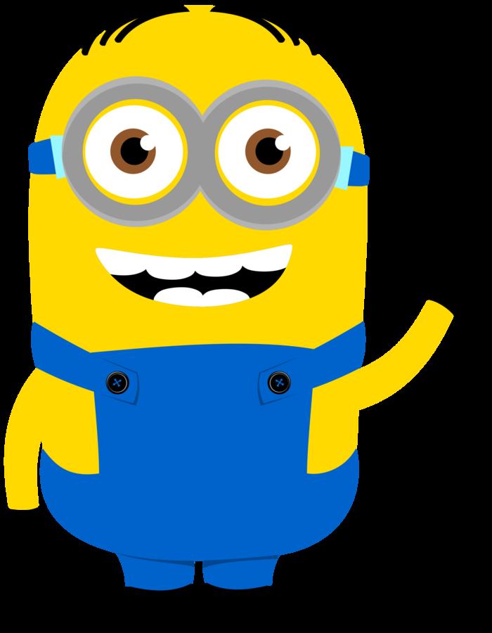 Minus Say Hello! Minions clips, Minions, Clip art