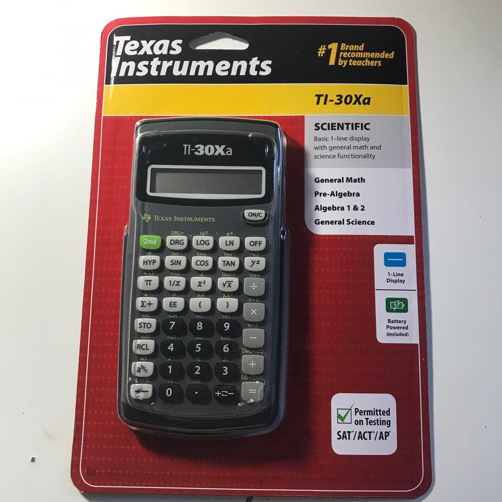 NEW Texas Instruments TI-30Xa Scientific Calculator
