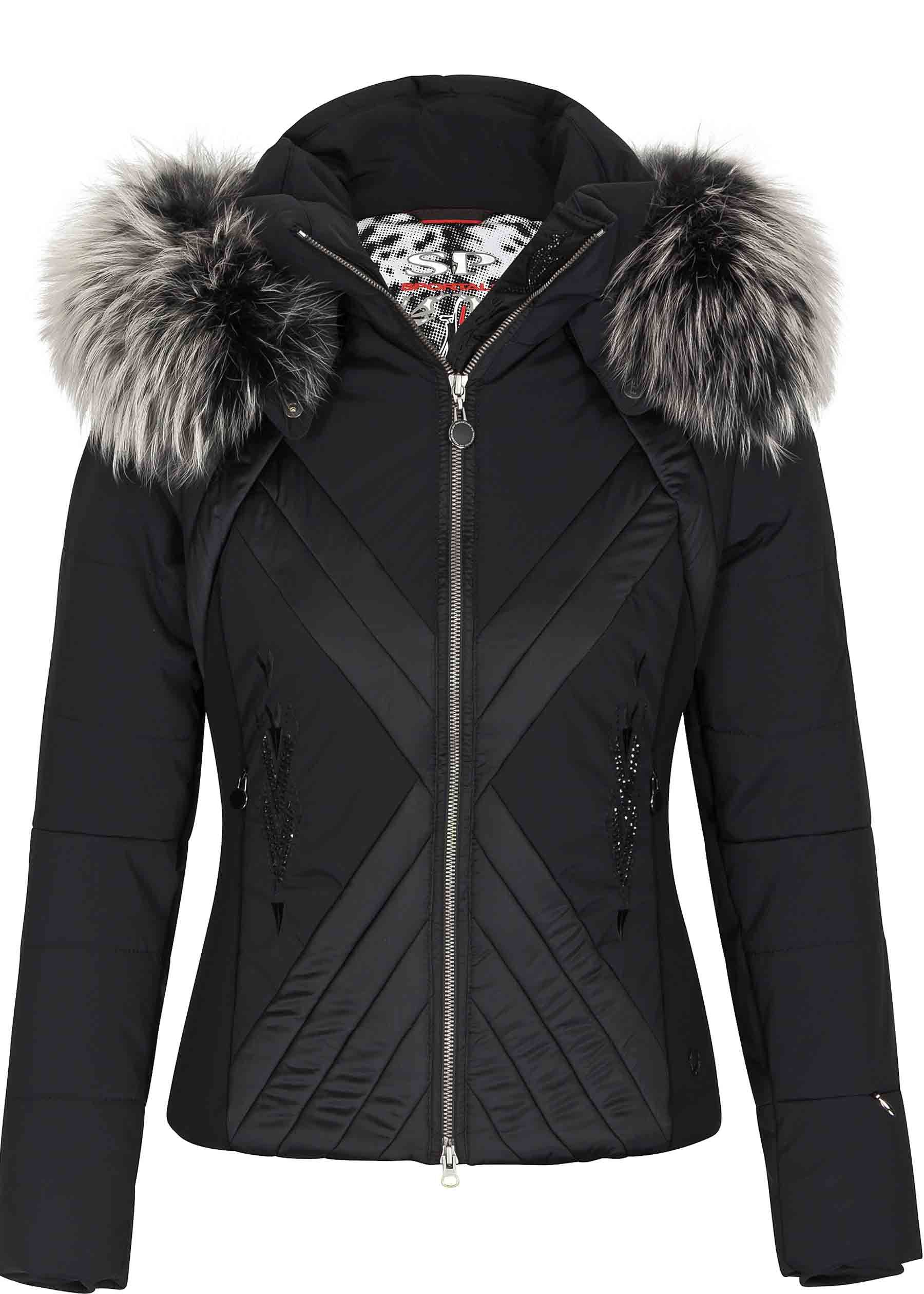 9868ba4a64 VICTIM JACKET WITH HOOD AND FUR More