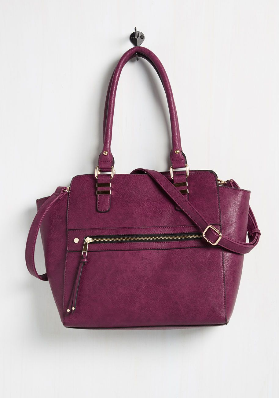 Styled and Beguiled Bag in Merlot