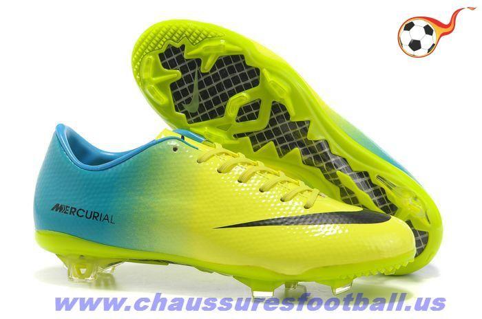 Nike Mercurial Vapor IX FG Cristiano Ronaldo Vert Bleu FT7032 ... 139370015f
