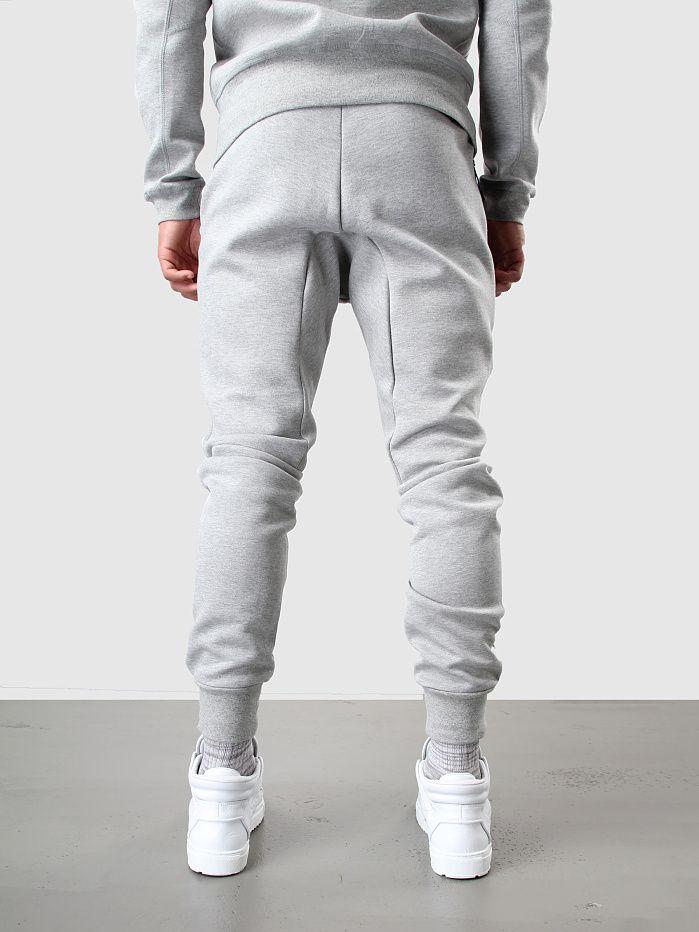 Nike Tech Fleece Crew Dark Grey Heather/Medium Grey/Black Mode