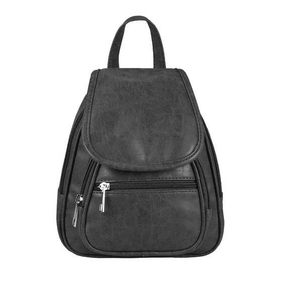 OBC RUCKSACK city backpack shoulder bag city backpack BackPack bag organizer leather optic or nappa leather patch leather leather backpack black