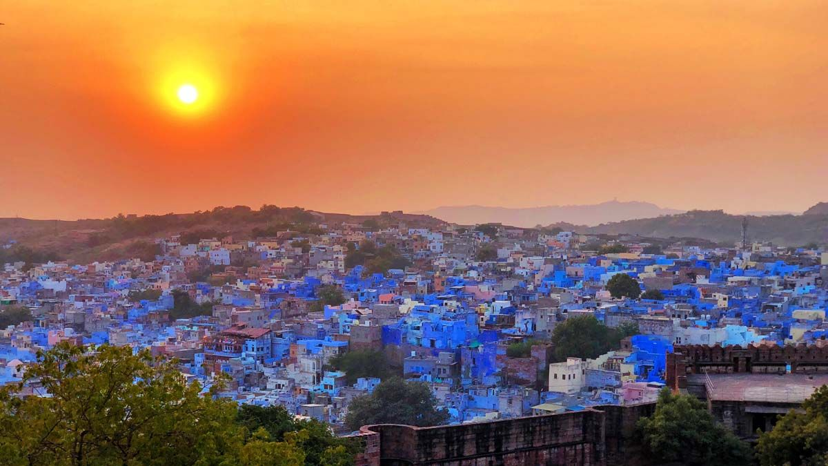 Plan a Trip to Jodhpur With Padharo. This amazing blue
