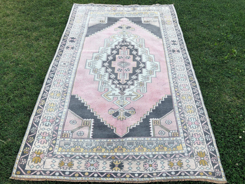 Free shipping rug runner Kitchen Oushak rug runner Distressed Turkish Oushak rug runner,Entry rug runner vintage Oushak rug rug