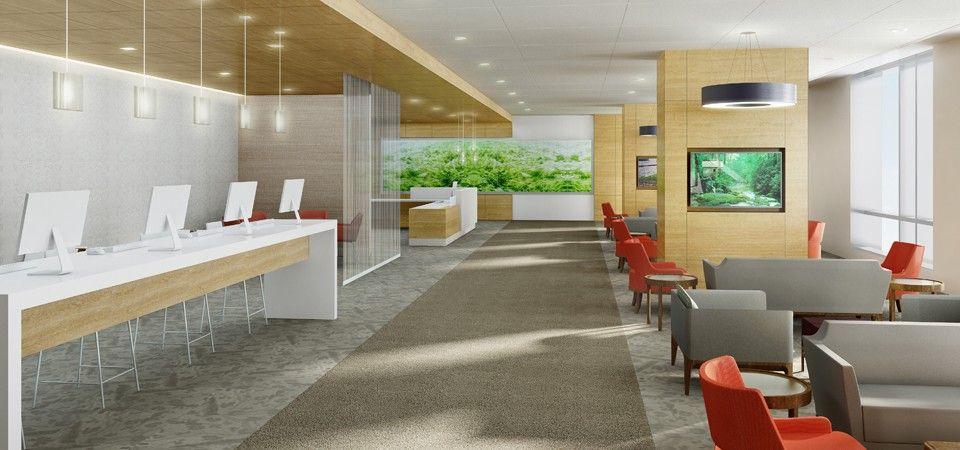 Ohio State University Wexner Medical Center Expansion Hospital Design Healthcare Interior Design Healthcare Design