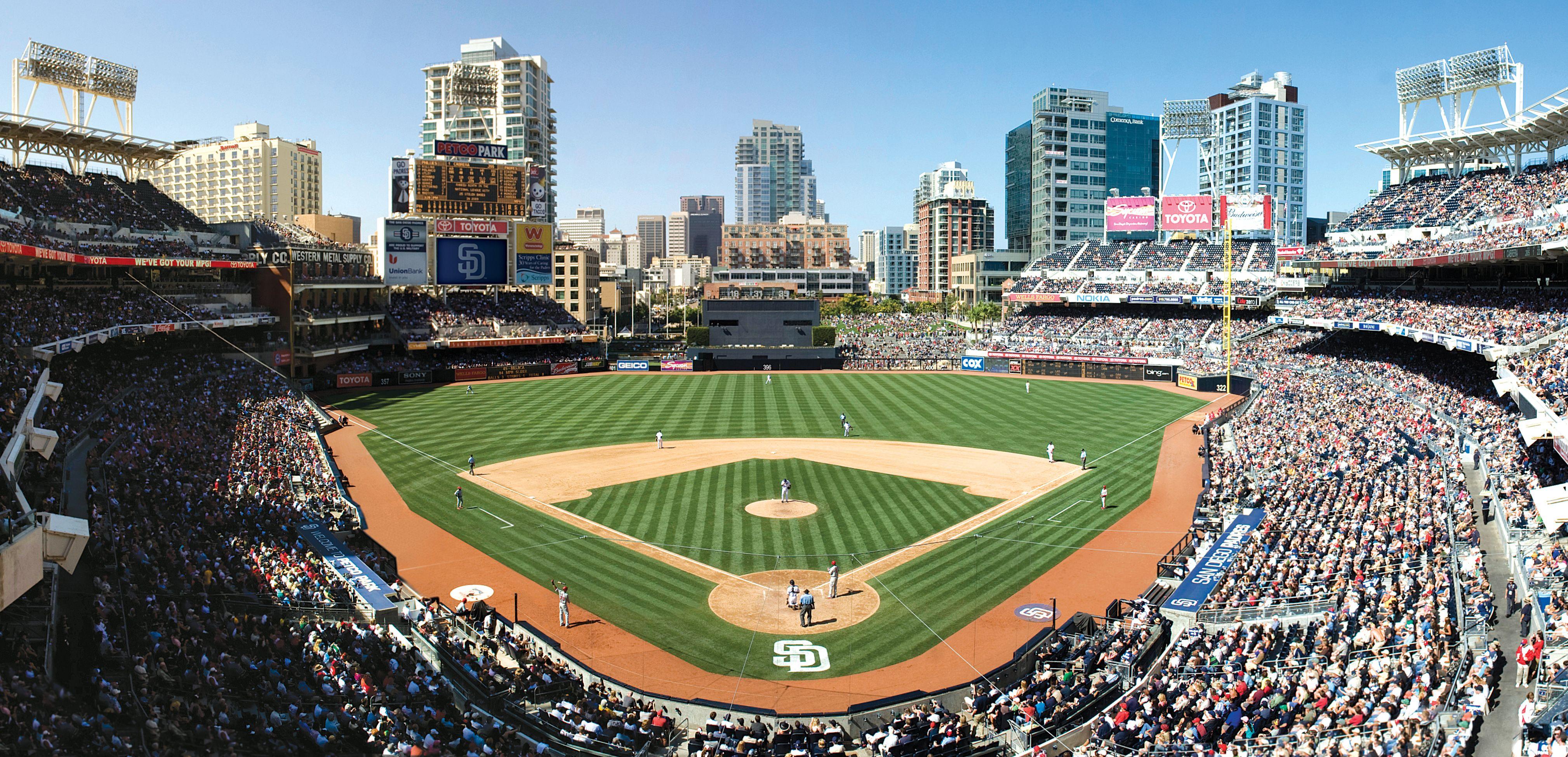 Petco Park Home To The San Diego Padres Petco Park Baseball Park San Diego Padres