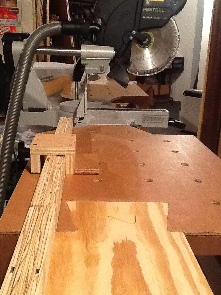 The Paulk Miter Stand Workbench Miterstand Diy Carpentry