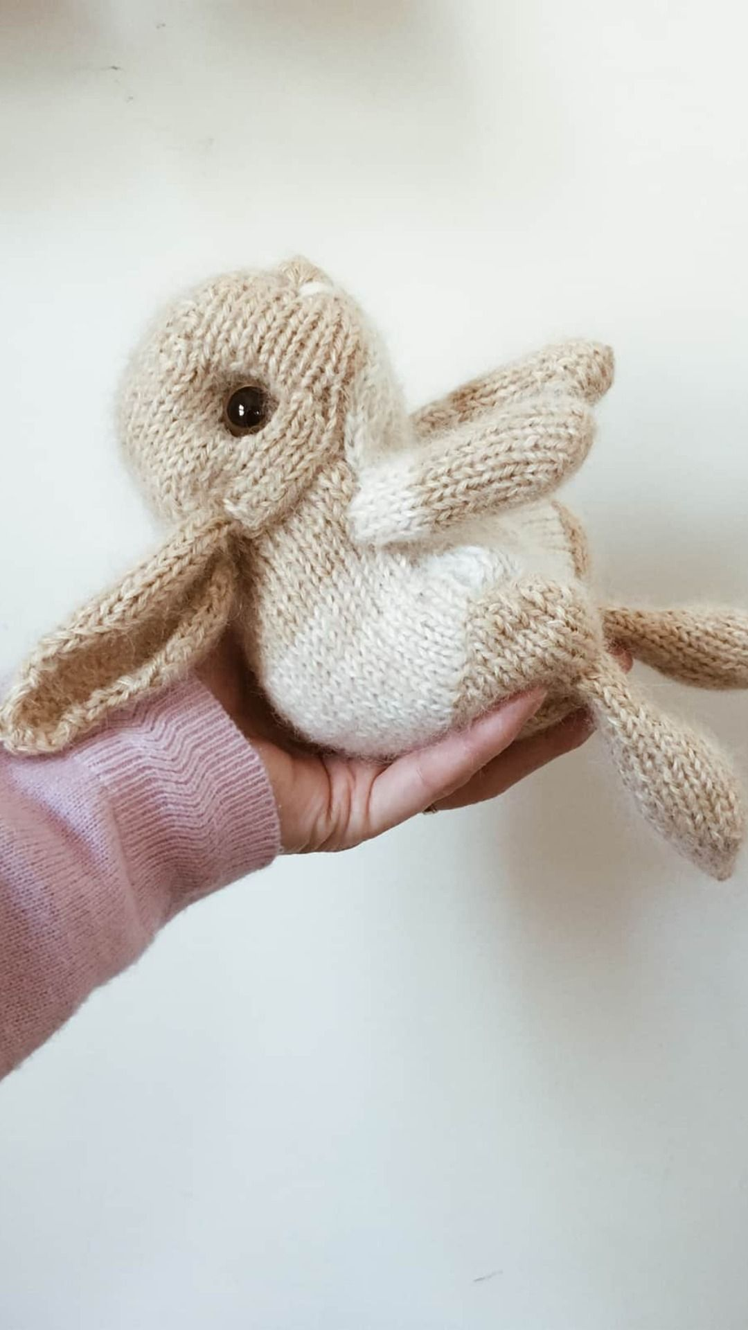Photo of how to knit a bunny rabbit – free knitting pattern