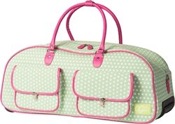 Check Out The Cutest Way To Carry Your Cricut Machine Rolling Tote Bag Rolling Tote