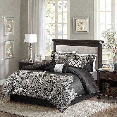Madison Park Vanessa 7 Piece Comforter Set U0026 Reviews | Wayfair
