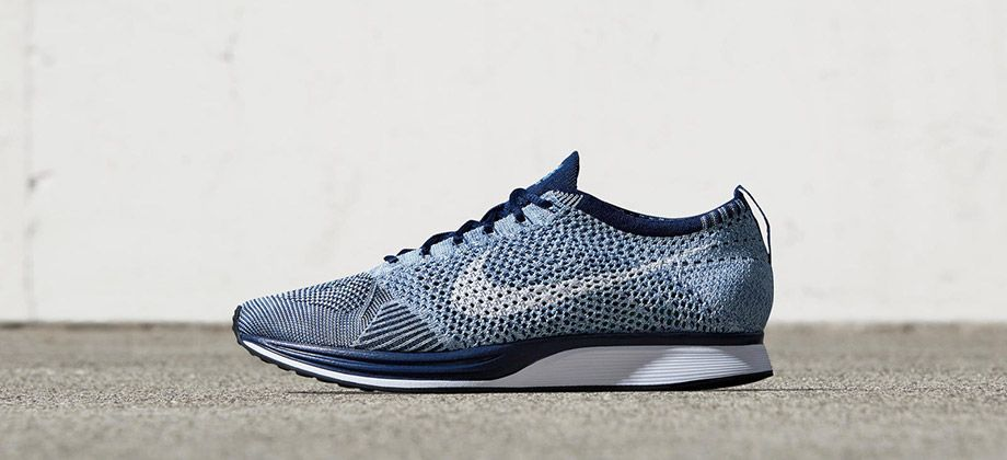 e9e4785c9081 Nike Flyknit Racer Blue Tint - Sneakers Madame New York Fashion