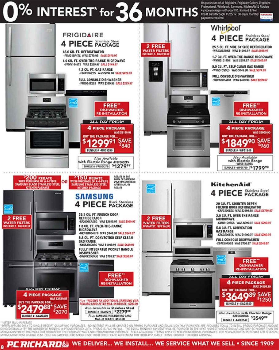 Pc Richard Black Friday 2017 Ads And Deals Save On A Wide Selection Of Appliances And Electronics Over Pc Richards Black Friday Browse Through Tons Of Deals On