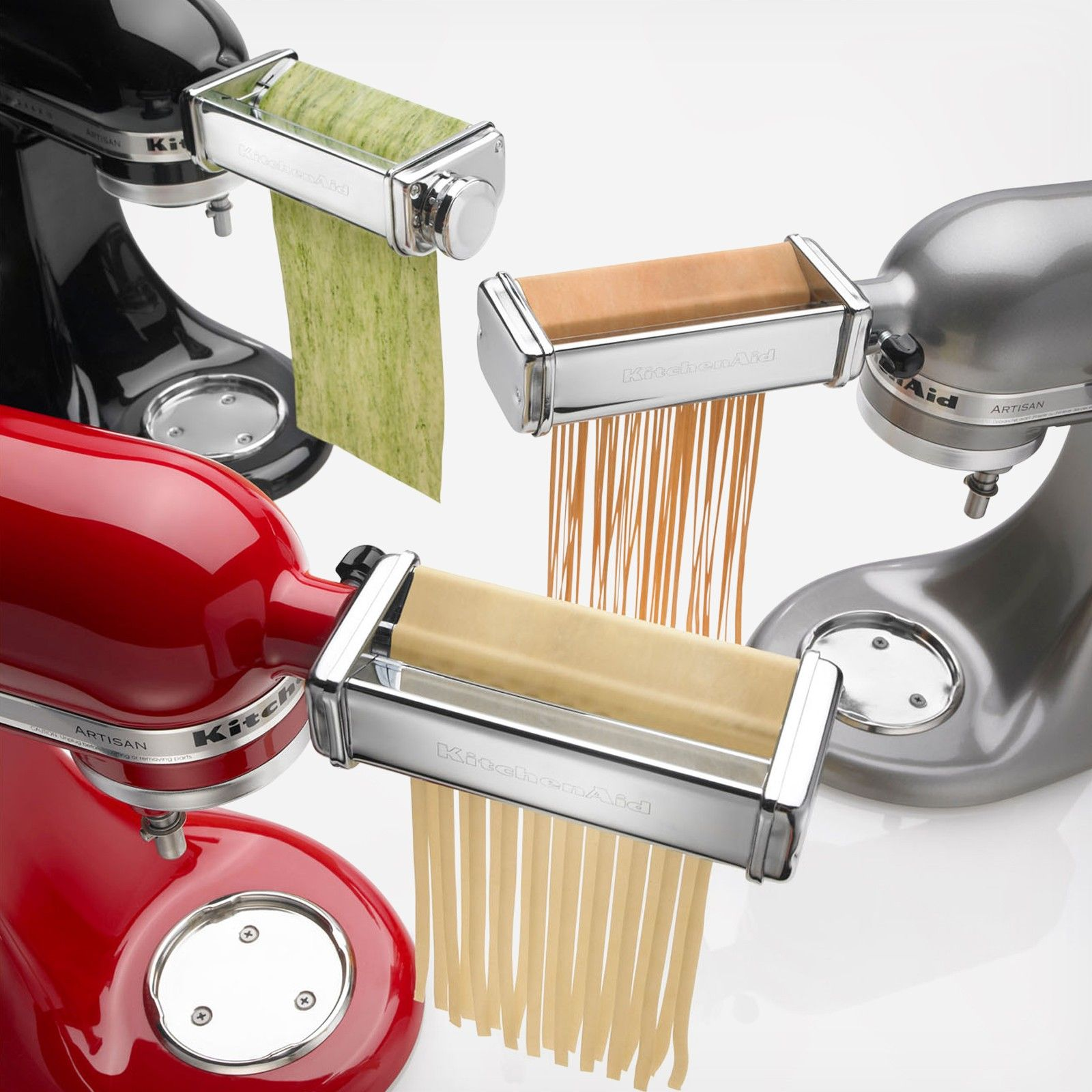 The Pasta Roller And Cutter Attachments For Kitchenaid Stand