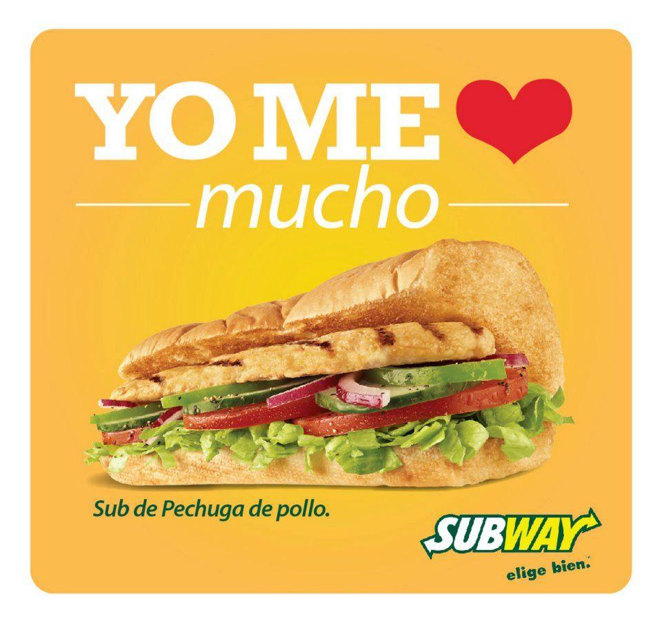 perder peso sándwich del metro
