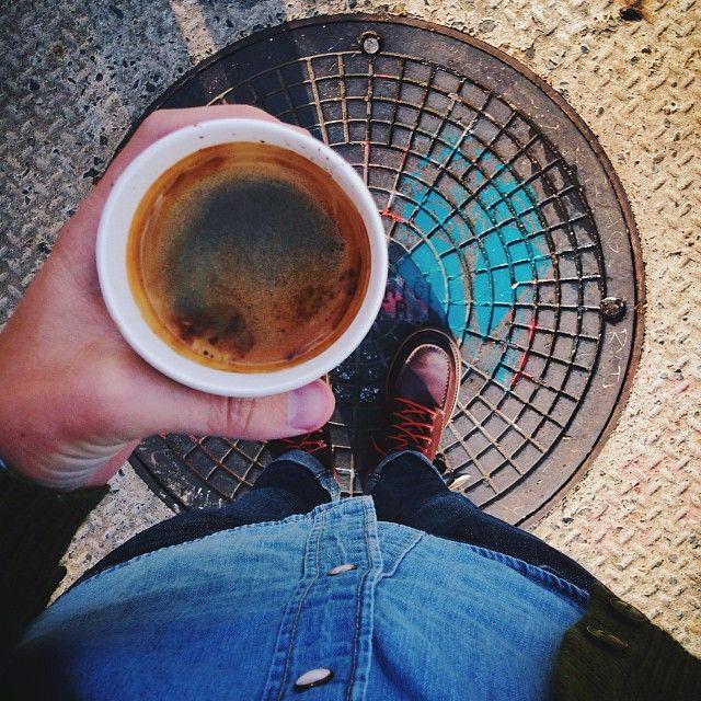 Americano Intelligentsia, Los Angeles Coffee, Tea, Latte
