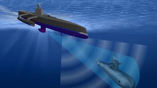 DARPA has awarded a contract to develop unmanned submarine hunters capable of operating for months on end without human intervention.