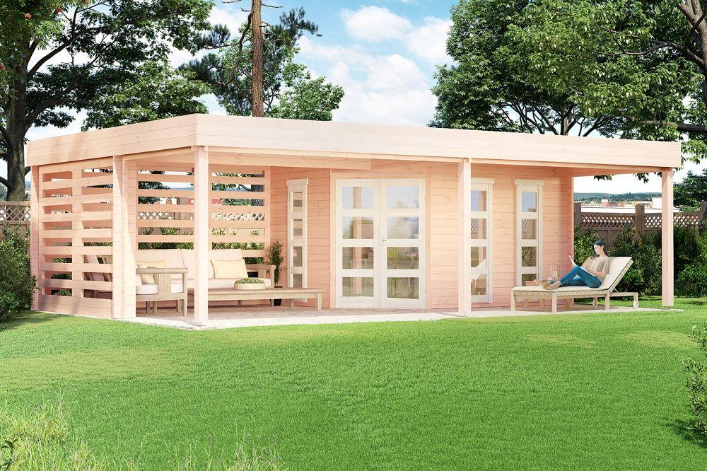 Gartenhaus Panama40 in 2020 Gartenhaus, Flachdach