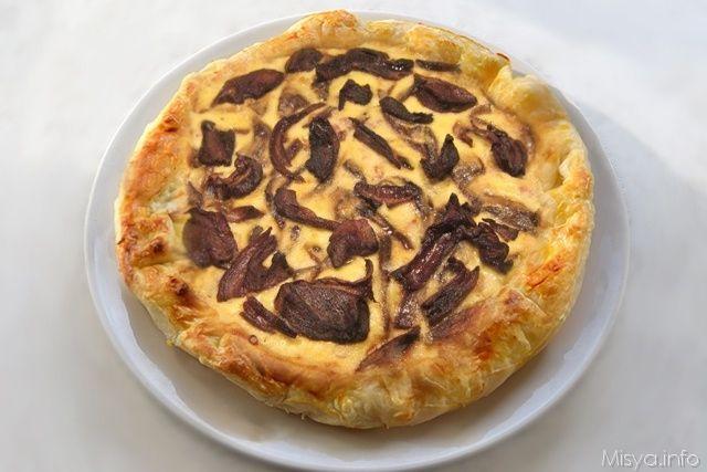 Ricetta Quiche Misya.Quiche Ai Funghi Porcini Ricetta Ricette Ricette Di Cucina Idee Alimentari