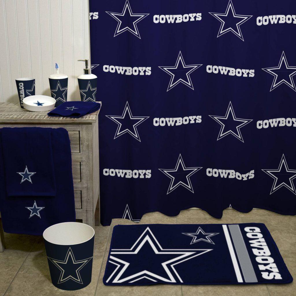 Dallas Cowboys Bathroom Set Cet