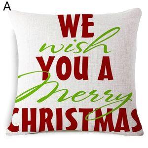 Moderne Kissenbezüge eu lager moderne kissenbezüge weihnachten merry design