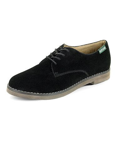 loving this black bucksport suede oxford on zulily