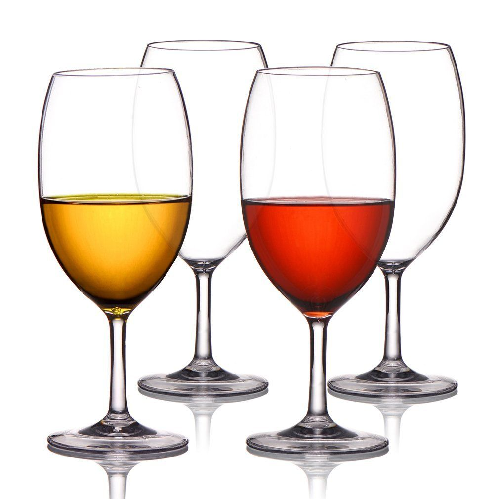 Amazon Com Michley Unbreakable Wine Glasses 100 Tritan Plastic Shatterproof Wine Glasses Bpa Free Unbreakable Wine Glasses Plastic Wine Glass Wine Glasses