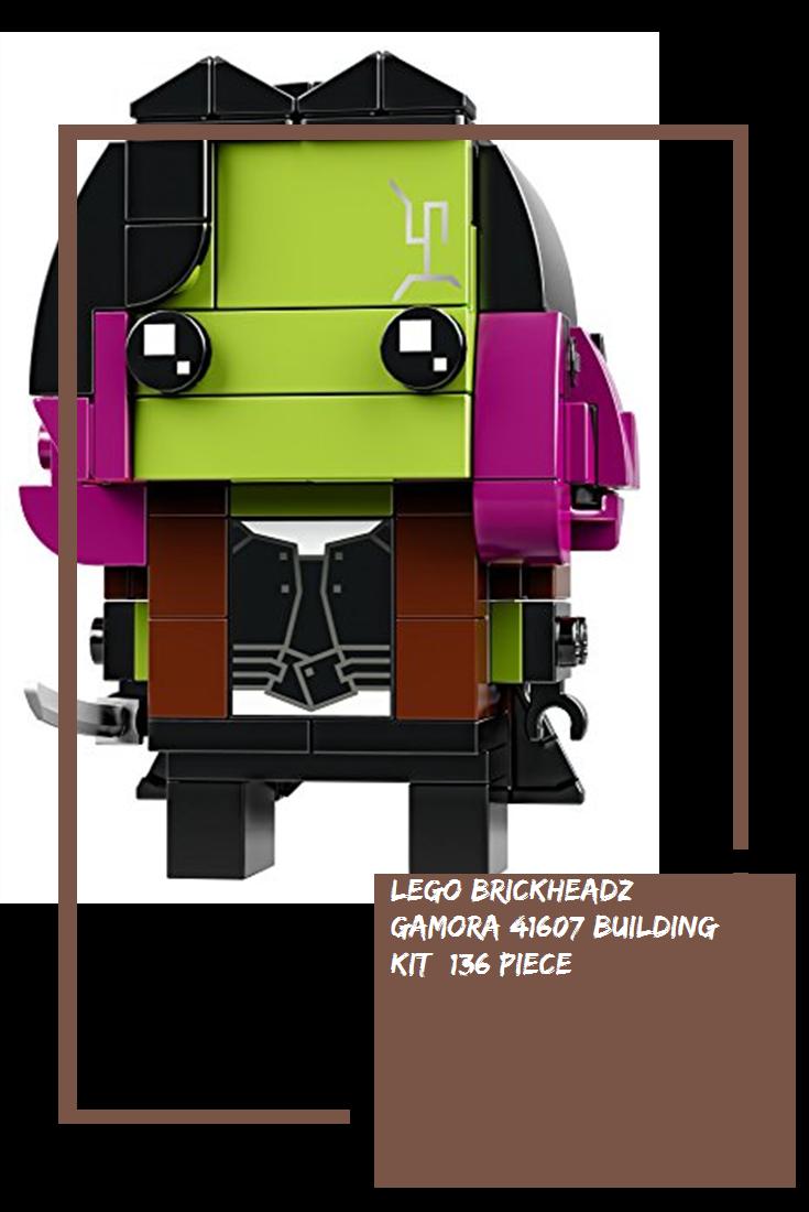 136 Piece LEGO BrickHeadz Gamora 41607 Building Kit