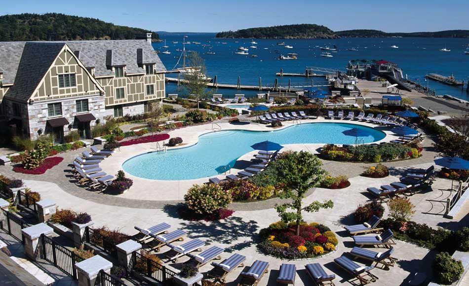 Bar Harbor Maine Hotels >> The Harborside Hotel Spa Marina Bar Harbor Maine
