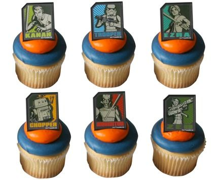 Star Wars Rebels cupcakes Walmart Birthday cakes and party