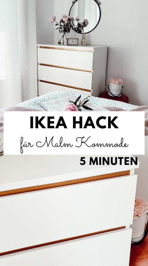 #DIY DER EINFACHSTE IKEA HACK FÜR MALM KOMMODE MIT EINEM HAUCH GLAMOUR – Unalife