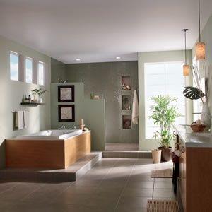 Green Tea Bathroom Color Possible Paint For Half Bath Behr On My Way Home