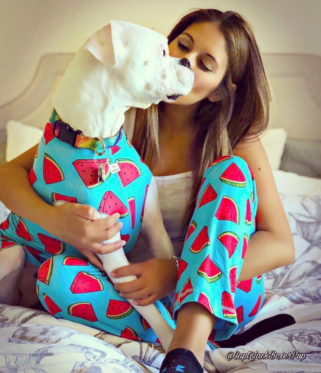 Matching Dog Watermelon Pajamas