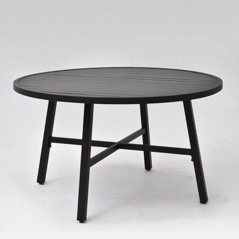 Fairmont Euro Patio Coffee Table Black Threshold Patio Dining