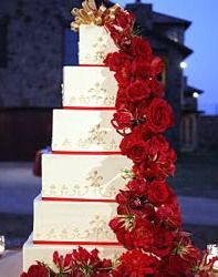 valentines day wedding cake red and white wedding cake red wedding cake wedding