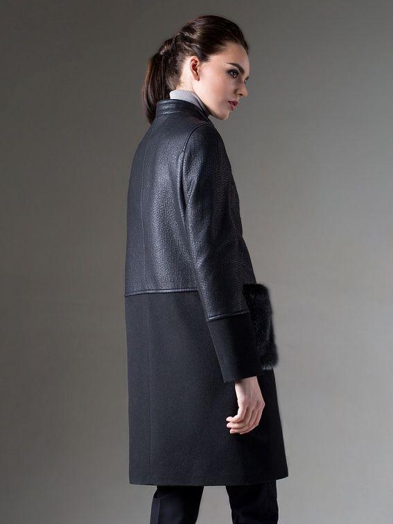 f3bc7fdc044 Купить пальто женское весна осень демисезонное в интернет магазине Pompa