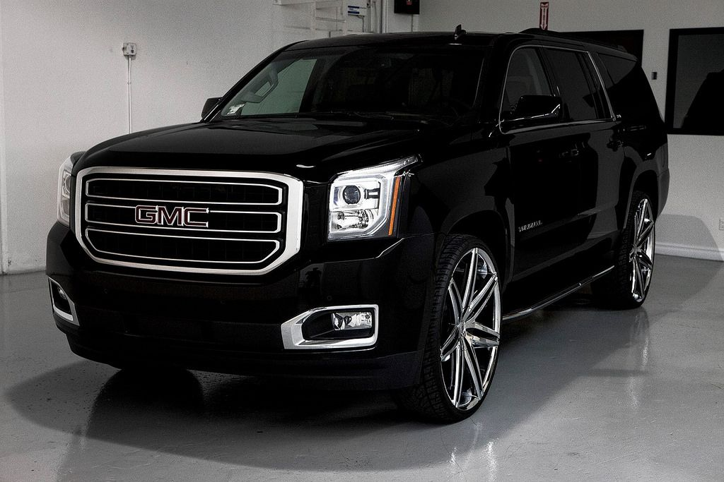 2015 Gmc Yukon Xl On 28 Suv Trucks Yukon Denali Big Trucks