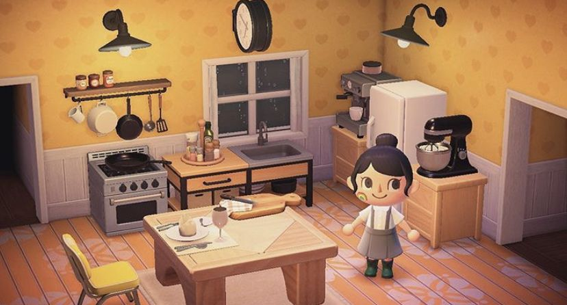 Pin by Iz on animal crossing new horizons in 2020 (With ... on Animal Crossing New Horizons Living Room Ideas  id=63125