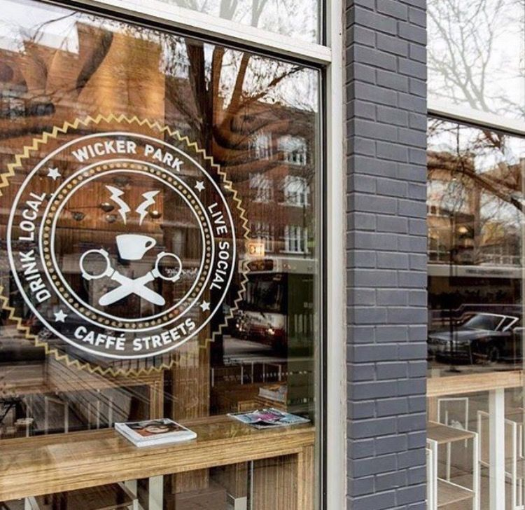 Chicago il coffee shop caffe street photo from caffe