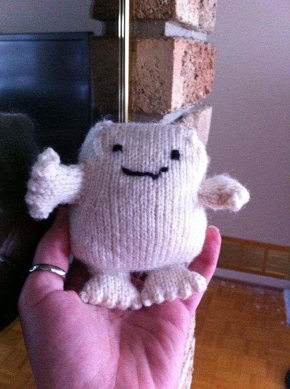 Knit Adipose Doctor Who By Knittylittlesecret On Etsy 2500 I