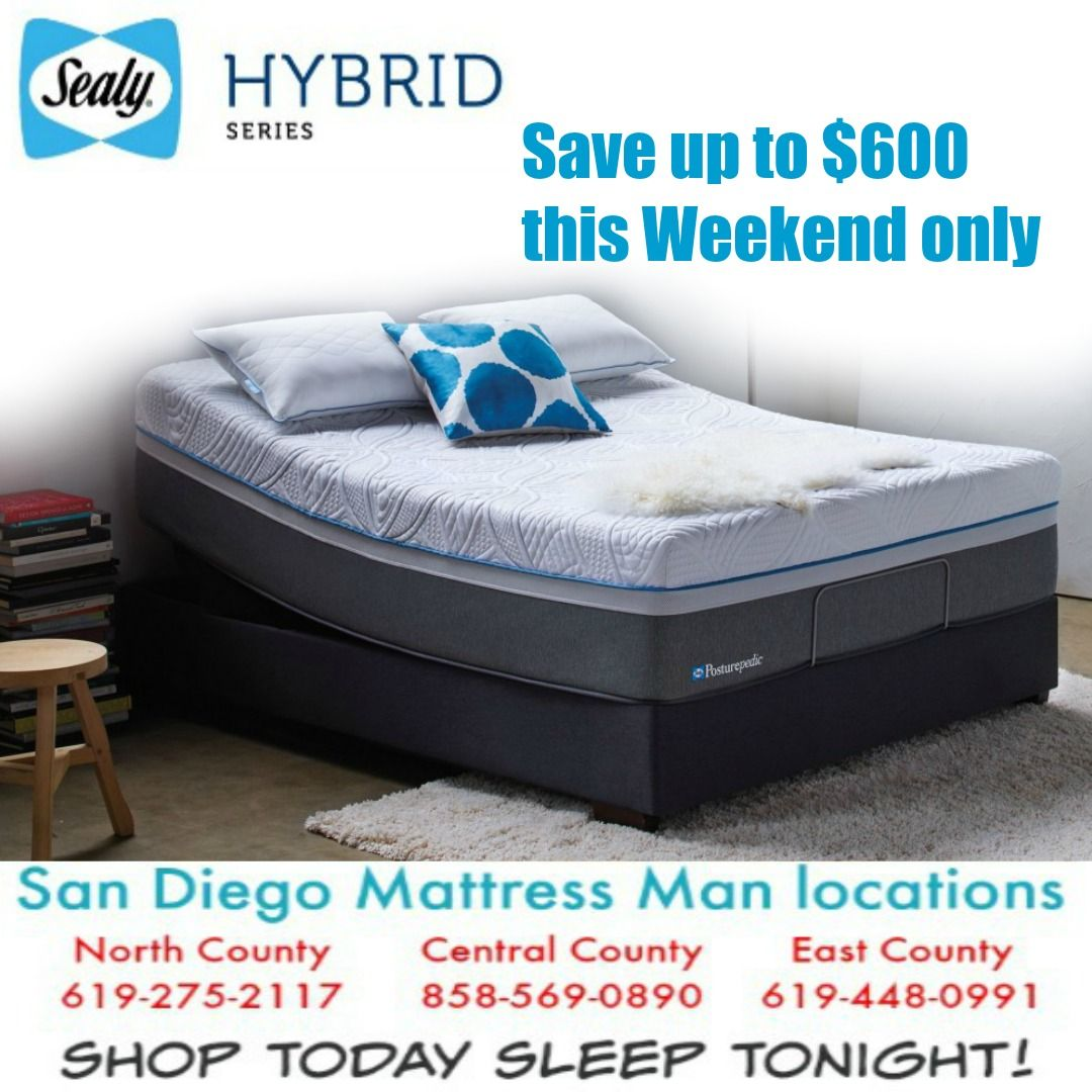 Sealy Hybrid Mattress Sale San Diego Mattress Store