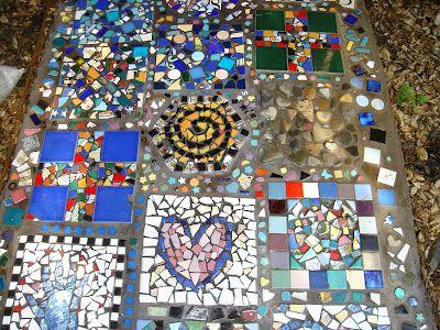Mosaic path idea