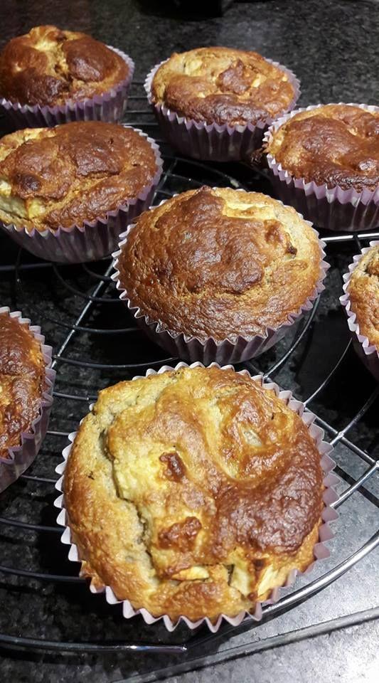 Appeltaart Haver Muffins Eet Ideeën Pinterest Ontbijt Gezond