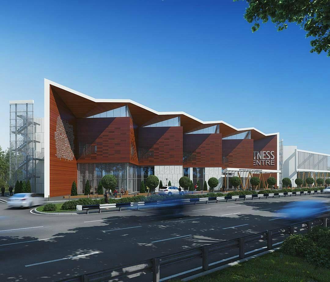 Colotune Architecture Visualisation Of Sport Complex