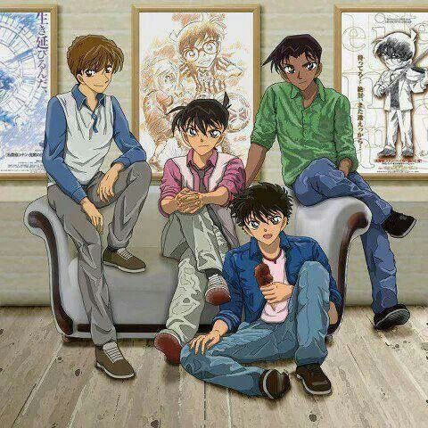 The Boys   Detective Conan   that have similar face (if cant be said same) :v
