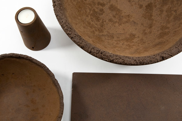 Coffee cups made from waste coffee grounds MaterialDistrict