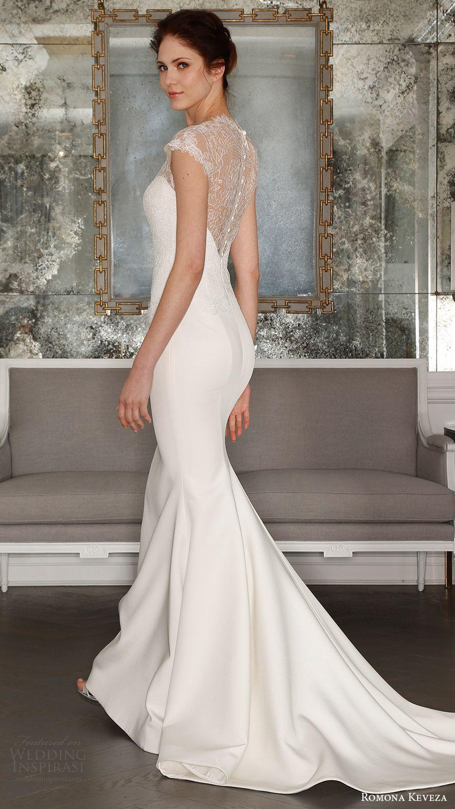 High neck wedding dresses  Romona Keveza Spring  Wedding Dresses u ucOde to Parisud Bridal